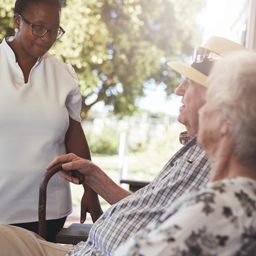Tracking tags for elderly and seniors in care homes