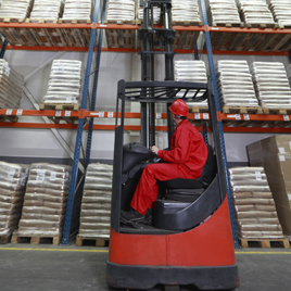 Warehousing equipment tagging for location tracking